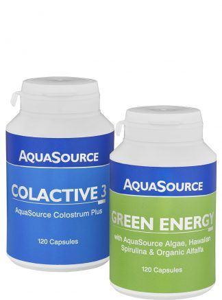 АкваСорс пакет Уелнес - КолАктив3 + Зелена енергия 120 капсули