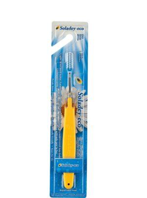 Soladey-eco - йонна четка за зъби жълта