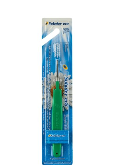Soladey-eco - йонна четка за зъби зелена
