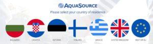 Аквасорс регистрация в чужбина